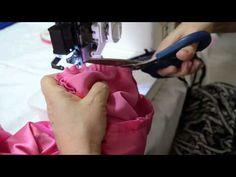 Como colocar manga com acabamento em viés - Aula 44 - YouTube