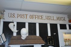 Did you know you could send your mail from Hell, Michigan.  They specially singe the edges, post mark it from Hell.  Great way to send your taxes!!  Taxes from Hell!!!!  (send your mail with stamps to:  Odum Plenty - Mayor, 4025 Patterson Lake Rd., Hell, MI 48169