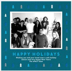 Happy Holidays, from our ePACT family to yours! Happy Holidays Wishes, Getting To Know, Happy New Year, Cool Pictures, First Love, Seasons, Fun, Happy New Years Eve, First Crush