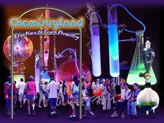 Chemistryland - explains science for older kids