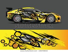Find Car Wrap Decal Vinyl Sticker Designs stock images in HD and millions of other royalty-free stock photos, illustrations and vectors in the Shutterstock collection. Thousands of new, high-quality pictures added every day. Auto Design, Bike Design, Custom Hot Wheels, Custom Cars, Pickup Trucks, Car Wrap Design, Car Tattoos, Car Drawings, Car Painting