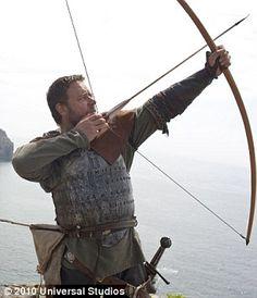 "Russell Crowe in ""Robin Hood"". 2010."