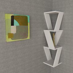 Zena Corner Shelf