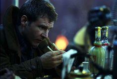 Harrison Ford as Detective Rick Deckard in Blade Runner
