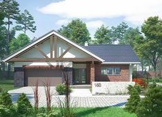 Projekt domu Artemida - murowana – beton komórkowy 161,80 m² - koszt budowy - EXTRADOM Home Fashion, Gazebo, House Plans, Outdoor Structures, Cabin, House Styles, Home Decor, Kiosk, Decoration Home