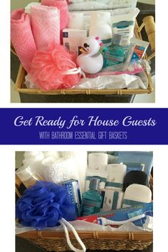 Get ready for house guests with customized bathroom essential gift baskets / #Scott100More #CollectiveBias #ad / @ScottBrand / by My Sweet Zepol - food and lifestyle blog #diy