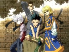 Hunter x Hunter (2011) I love this anime! It's a longer one that doesn't get boring or drawn out. The story remains just as compelling as it was at the beginning.