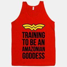 Training to be an Amazonian Goddess | HUMAN