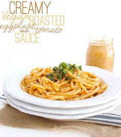 7. Creamy Vegan Roasted Tomato and Eggplant Sauce #greatist http://greatist.com/eat/vitamix-recipes Vitamix Blender, Vitamix Recipes, Smoothie Recipes, Kitchen Booths, Island Park, Dining Tables, Vegan Roast, Roast Eggplant, Seasoning Mixes