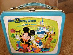 Lunch box: Vintage Walt Disney World Mickey Mouse