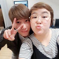 Hyunseong ~ 민주야 우리는 #두개  현성이 귀여워 ㅋㅋ #보이프렌드 #현성 #멍멍