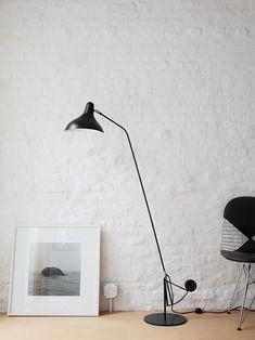 Mantis BS1 B Floor Lamp Designed by Bernard Schottlander