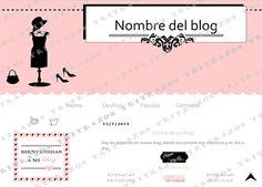 """""""Diseño de blog"""" en venta - Ref. """"Moda1"""""""