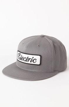 a13e3562a0547 Electric Garaged Snapback Hat Custom Caps