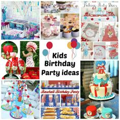Birthday Party theme ideas - some really creative ideas here!