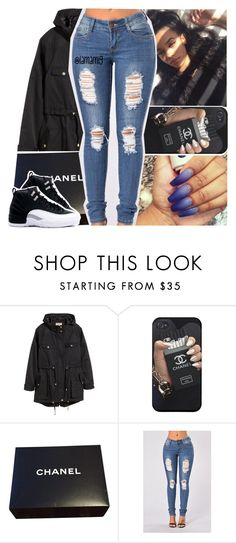 """tryna forgive the people who told you i wasn't it"" by lamamig ❤ liked on Polyvore featuring H&M and Chanel"