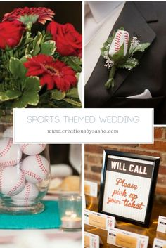 Sports Themed Weddin