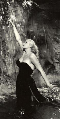 """La Dolce Vita"", Anita Ekberg, 1960"