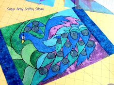 Make batik fabric with melted crayons!  Great craft for both kids and adults!