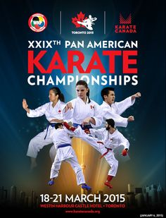 XXIX Pan American Adult Karate Championship – Toronto 2015