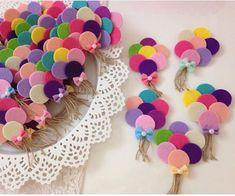 Balon magnet bebek şekeri İnstagram @kece_evim - AmigurumiHouse