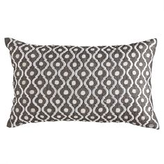 as a collector of pillows and a lover of grey, this will fit in nicely.