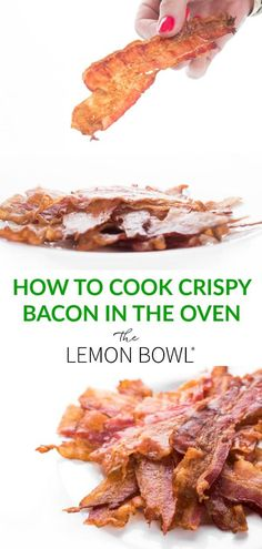 Easy and mess-free, this crispy bacon is the same type you would find in a hotel buffet. You will never cook it on the stovetop again! #Breakfast #Bacon #BaconLovers #cookingtips #brunch