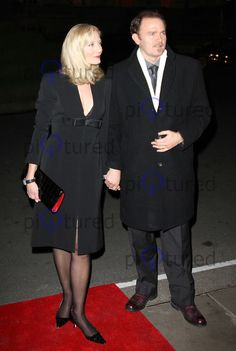 Joely Richardson with half brother Carlo Nero. Joely Richardson, Vanessa Redgrave, Half Brother, Celebs, Celebrities, Celebrity Couples, Parents, Formal, Dresses
