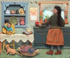 Salley Mavor's book illustrations