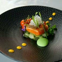 The Professional Chef Food Design, Michelin Food, Food Plating Techniques, Gourmet Recipes, Cooking Recipes, Food Decoration, Creative Food, Food Presentation, Food Inspiration