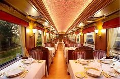 India's far-famed luxury tourist train Maharajas' Express runs between September and April every year covering three seasons – the autumn, the winter and the spring.