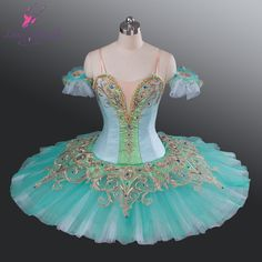 ballet pancake tutu | 2015-New-arrival-green-color-with-rich-decoration-classical-ballet ...