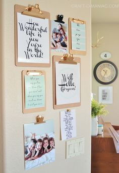 Photo Walls That Every Home Needs #Homecraft #PhotoWall