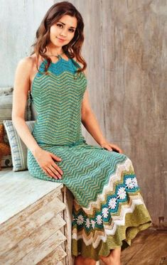 Click to view pattern for - Crochet summer top and skirt