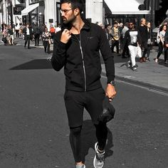 Don't follow the crowd, create your own lane 😎 // @daniellukakis sporting our Chrome Zip Hoodie, Tapered Shorts and performance leggings 🙌 . . . . #BAAClothing #BAA #S1 #fashion #sportswear #blackfashion #blackonblack #streetstyle #streetwear #streetphotography #streetfashion #menswear #mensfashion #mensstyle #style #potd #ootd #london #londonfashion #fashionblogger #fashionmen #fashionweek #athleisure #sportsluxe - https://www.baaclothing.com/pages/shop-instagram