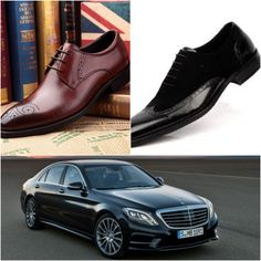 The car S350, the shoe