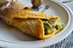 Śniadaniowa tortilla jajeczna