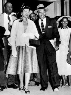 Martin Luther King Jr. & Coretta Scott King.