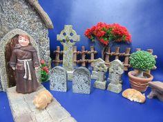 Miniature Garden Church and Miniature Garden Churchyard Accessories - Brand New Outdoor Gardens, Fairy, Miniatures, Brand New, Create, Pixies, Painting, Accessories, Inspiration
