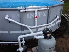 1000 images about pool stuff on pinterest intex above for Chauffer piscine intex
