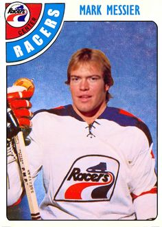 Messier with the Indy Racers WHA Hockey Logos, Hockey Goalie, Hockey Games, Ice Hockey, Hockey Quotes, Hockey Pictures, Sports Pictures, Mark Messier, Bobby Hull
