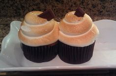 S'mores cupcakes from Disney's Wilderness Lodge
