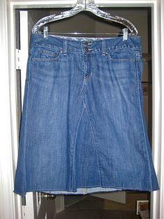 Jeans into Skirt | Vaqueros a falda