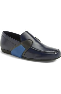 PRADA 'Runway' Slip-On Loafer (Men). #prada #shoes #flats