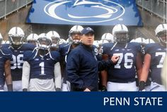 "Due to ""continued progress to restoring athletics integrity"", Penn State's sanctions regarding football scholarships will now be gradually reduced by the NCAA. This is the first milestone in overcoming the penalties brought on by the Sandusky scandal. Football Is Life, Football Season, Football 2013, Collage Football, Pennsylvania State University, Nittany Lion, Football Program, Alma Mater, Social Events"