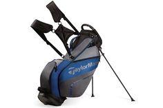 Taylormade 2016 Pro 4.0 Stand Bag Black Grey Blue - Golf Accessories - Golfbidder