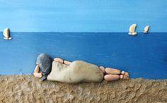 Creatieve voorstellingen van stenen