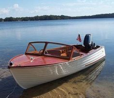 The Boathouse: a new definition to lakefront living! Wooden Boat Building, Boat Building Plans, Old Boats, Small Boats, Lyman Boats, Runabout Boat, Model Boat Plans, Wood Boat Plans, Classic Wooden Boats