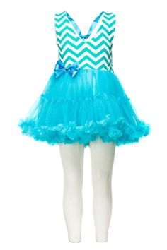 (Chevron Halter Tutu Dress) Splash a dash of colors with this lovely flary halter Tutu dress soothening to the eyes, fabric: Cotton top with Tulle skirt that is soft for the skin. Girls Tutu Dresses, Fairy Princesses, Blue Chevron, Kids Wear, Skirt Fashion, Dresses Online, Ballet Skirt, Skirts, How To Wear
