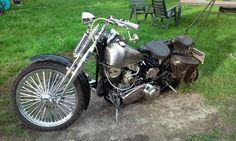 1948 Harley Davidson Flathead  Lars Slåbakk